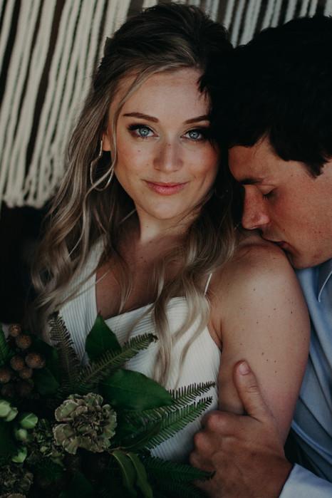 Alyssa + Mike | Wedding Portrait