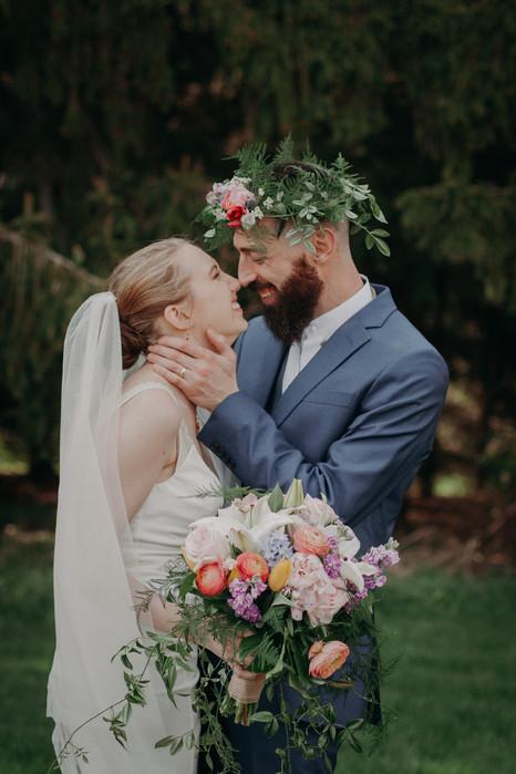 K + E | Wedding Portrait
