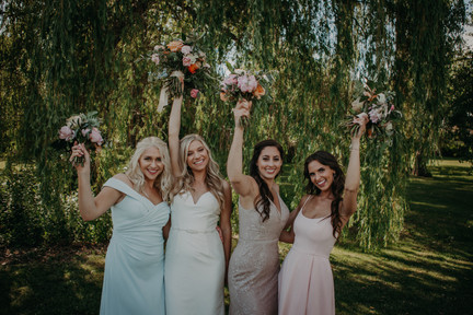 Natalie and Bridesmaids
