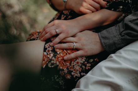 Sam + Zach engagement rings