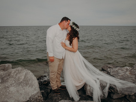 Heather + Matt | Door County Wedding