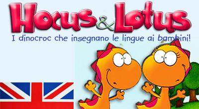 Corsi di Inglese per bambini Hocus&Lotus - Roma Garbatella - Roma Marconi