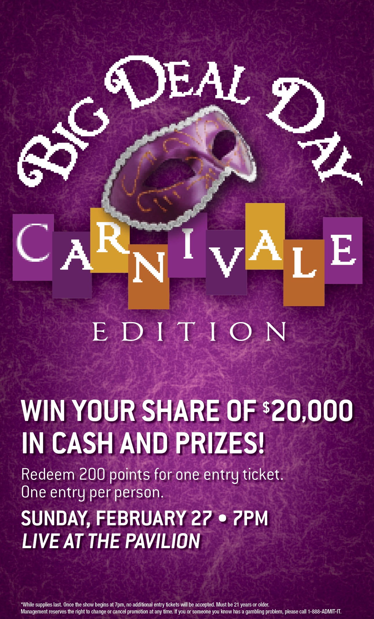 BDD Carnivale