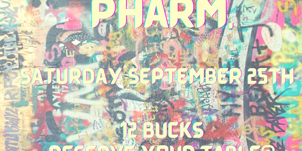 Saturday Patio Session (Sept 25): HIGH HORSE, and PHARM