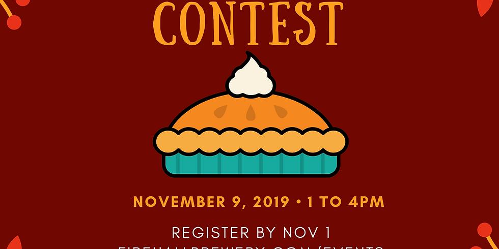 3rd Annual Pumpkin Pie Contest