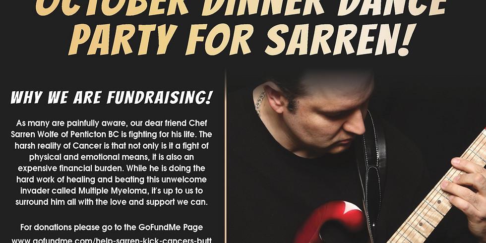 October Dinner Dance Party for Sarren