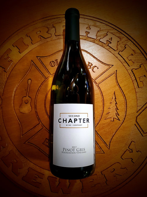 White Wine 750ml - Second Chapter Pinot Gris