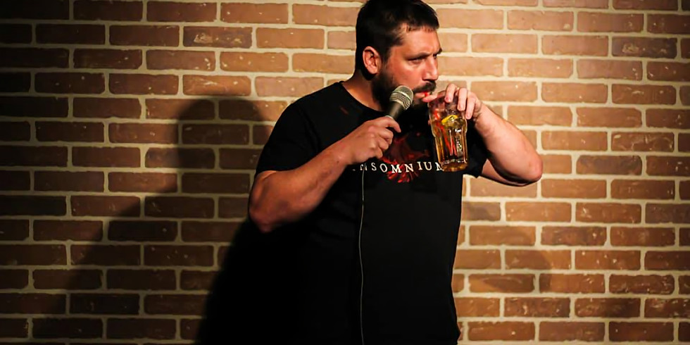 """""""Back to Scrood"""" Comedy with Caleb Campbell (Tues, Oct 6)"""
