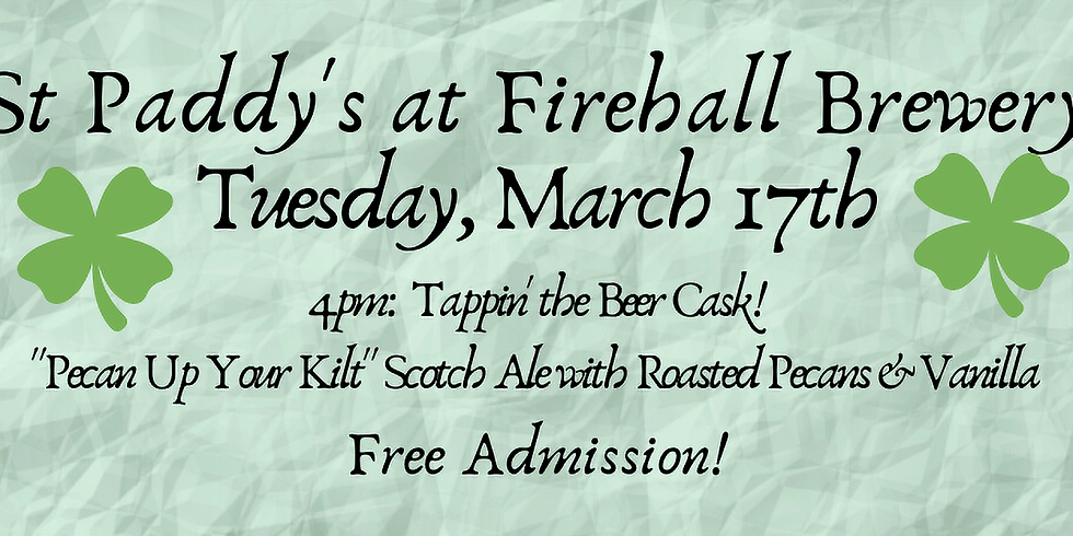 St Paddy's at Firehall Brewery