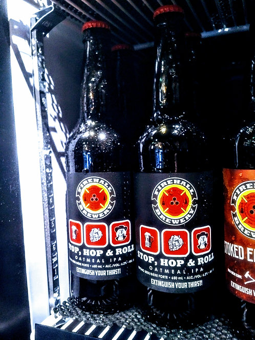 """""""Stop Hop & Roll"""" Oatmeal IPA - 650 ml Bottle"""
