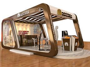 Majid Al Fottaim - Employment fair booth