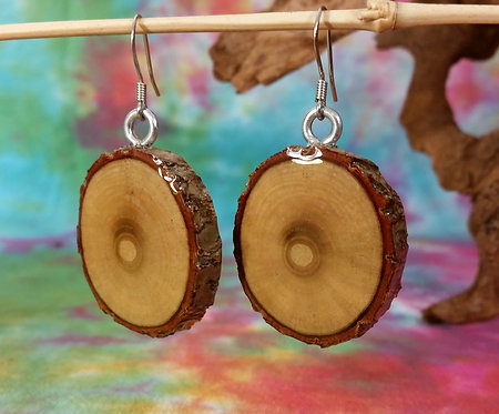 Sassafras End Grain Earrings
