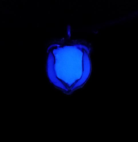 Glow in the Dark Acorn Pendant