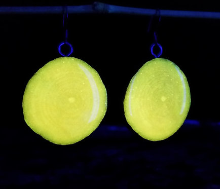 Glow End Grain Earrings