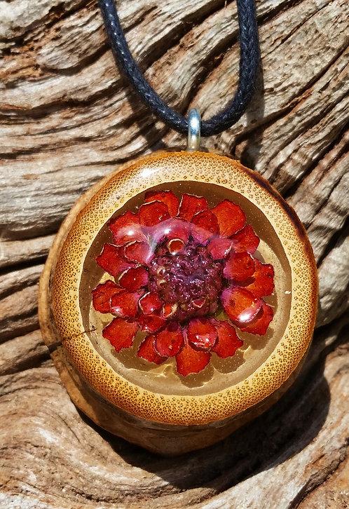 Medium Wild Flower Pendant