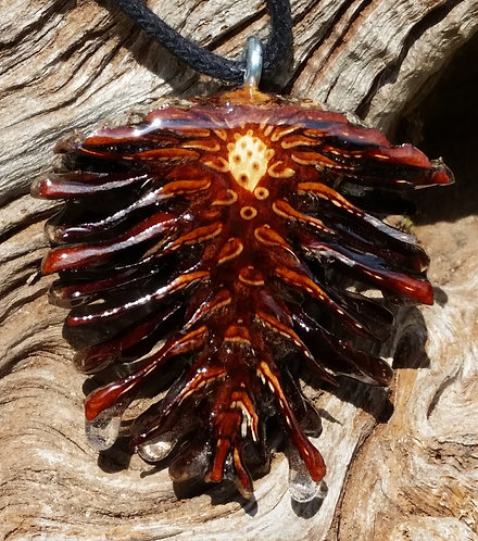 Open Pinecone Pendant