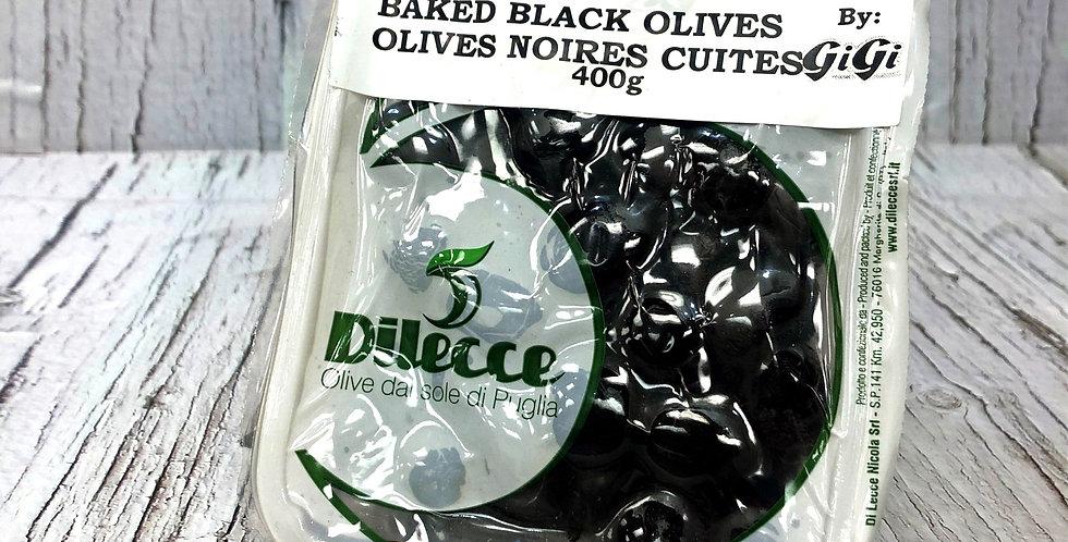 Dilecce Baked Black Olives