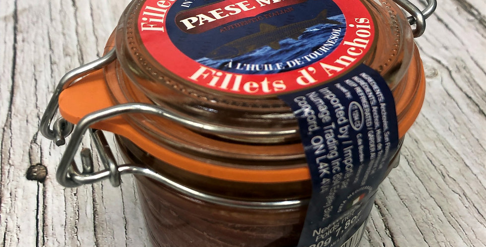 Paese Mio Fillets of Anchovies