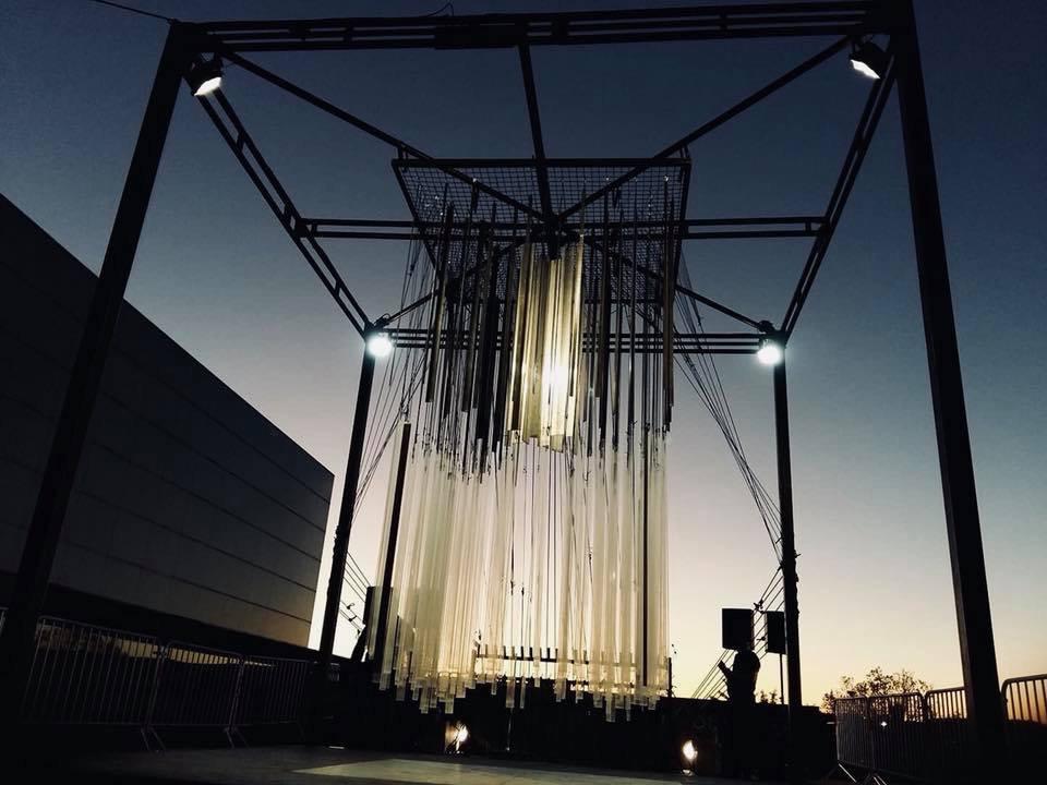 Installation - Esplanade du TAP - Poitiers ©fearlessrabbits