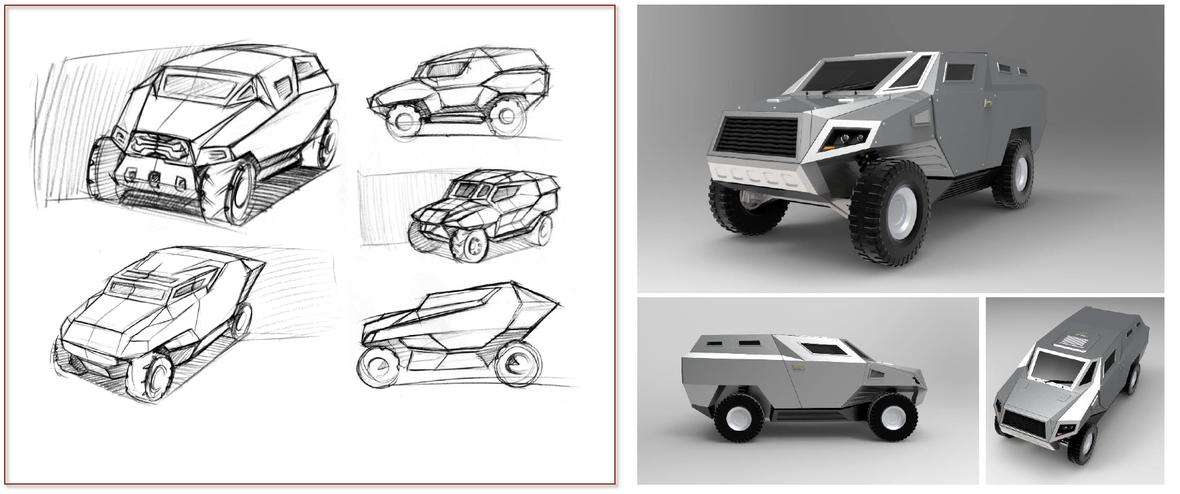 4x4 concept