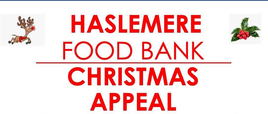 Haslemere Food Bank are officially launching their Christmas Appeal.
