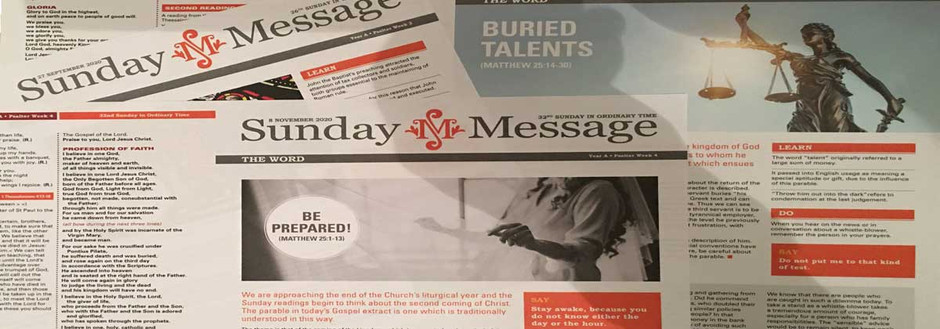 Latest Bulletin - 2 Sunday of Advent 2020
