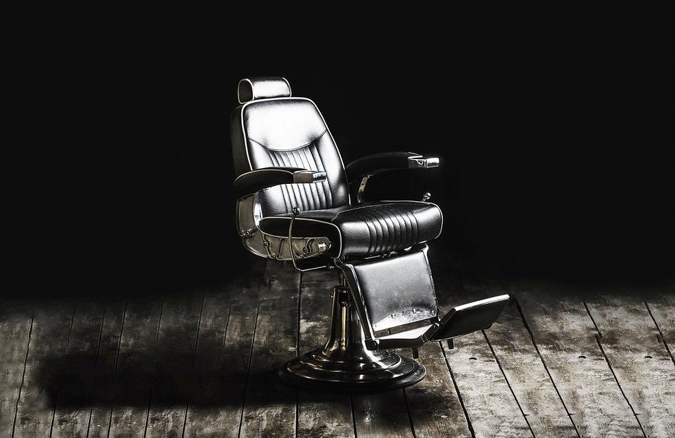 Barbershop armchair, modern hairdresser