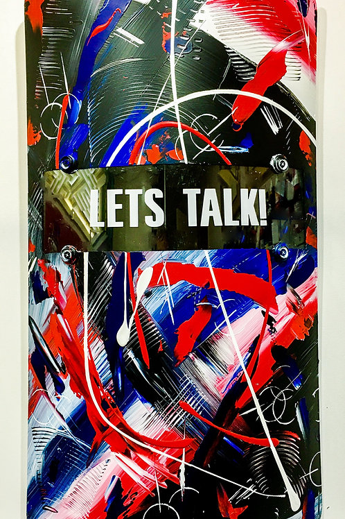 "Riot Shield: ""Lets Talk!"""