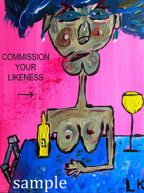 COMMISSION YOUR LIKENESS