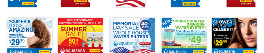 Aquasana Digital Ads