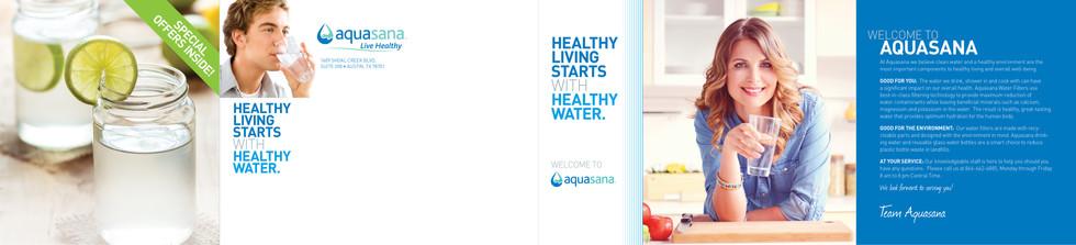 Aquasana Welcome Direct Mail