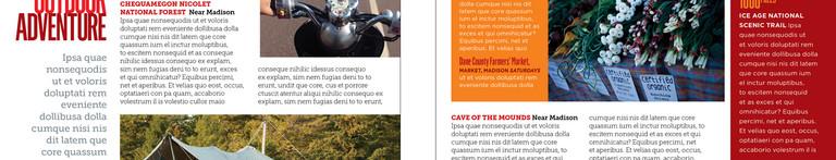 Wisconsin Magazine Insert