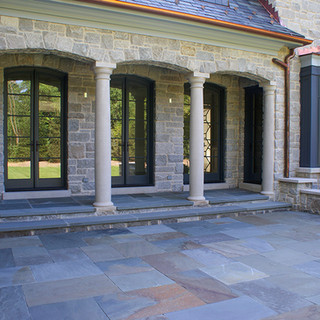 Full Range Natural Cleft Bluestone Patio