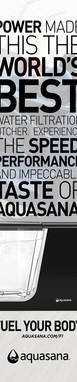 Aquasana F1 Magazine Ad