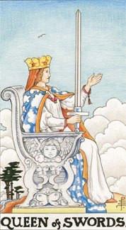 Sasha Graham's Tarot Card a Day Blog – The Queen of Swords