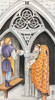 Sasha Graham's Tarot Card a Day Blog – The Three of Pentacles