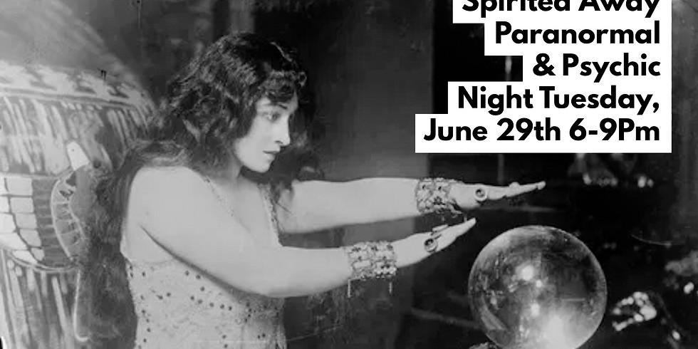 Spirited Away Psychic & Paranormal Evening with Sasha Graham (1)