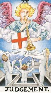Sasha Graham's Tarot Card a Day Blog – Judgement