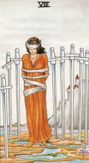 Sasha Graham's Tarot Card a Day Blog – The Eight of Swords