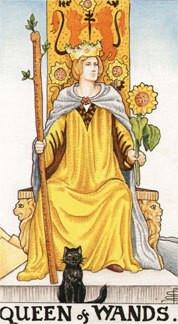 Sasha Graham's Tarot Card a Day Blog – The Queen of Wands