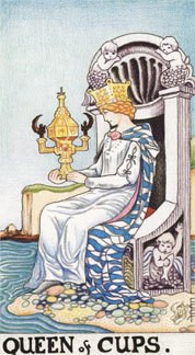 Sasha Graham's Tarot Card a Day Blog – The Queen of Cups