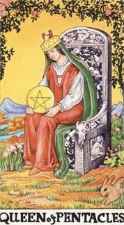 Sasha Graham's Tarot Card a Day Blog – The Queen of Pentacles