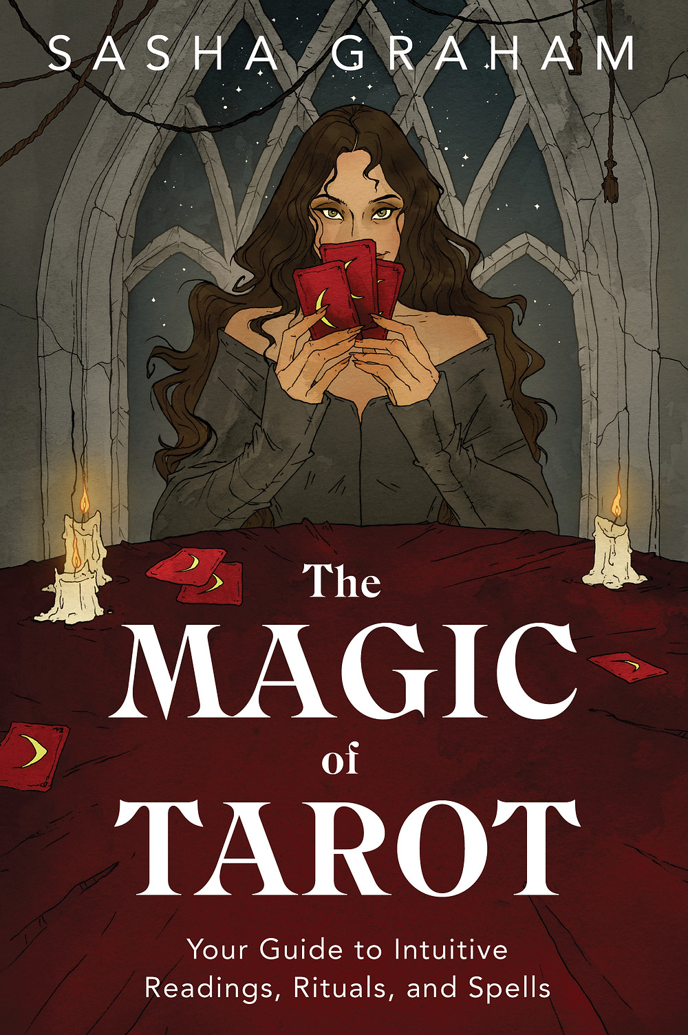 In her forthcoming book, The Magic of Tarot, Sasha gifts us with her unique and magical way of approaching tarot and life. She is also eminently practical. In her section on ways to study the tarot, she gives plenty of tips on ways to study and where to find materials.
