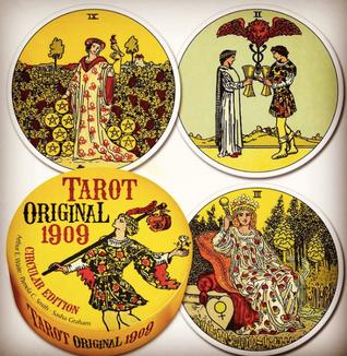 Tarot Original 1909 Circular Deck Cards – March 8, 2022 by Arthur Edward Waite (Author), Pamela Colman Smith (illustrator), Sasha Graham (Author)