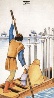 Sasha Graham's Tarot Card a Day Blog – The Six of Swords