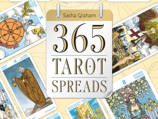 365 Tarot Spreads: Revealing the Magic in Each Day Available for Pre-order