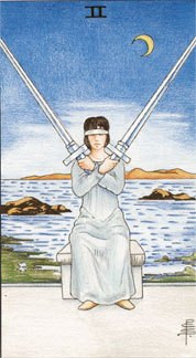 Sasha Graham's Tarot Card a Day Blog – The Two of Swords