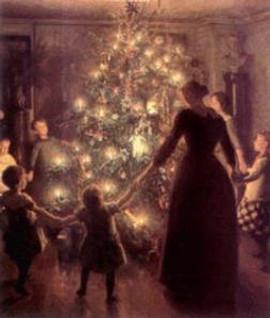Sasha Graham's Tarot Diva Blog ~ Tarot Cards for Your Christmas Tree