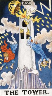 Sasha Graham's Tarot Card a Day Blog – The Tower