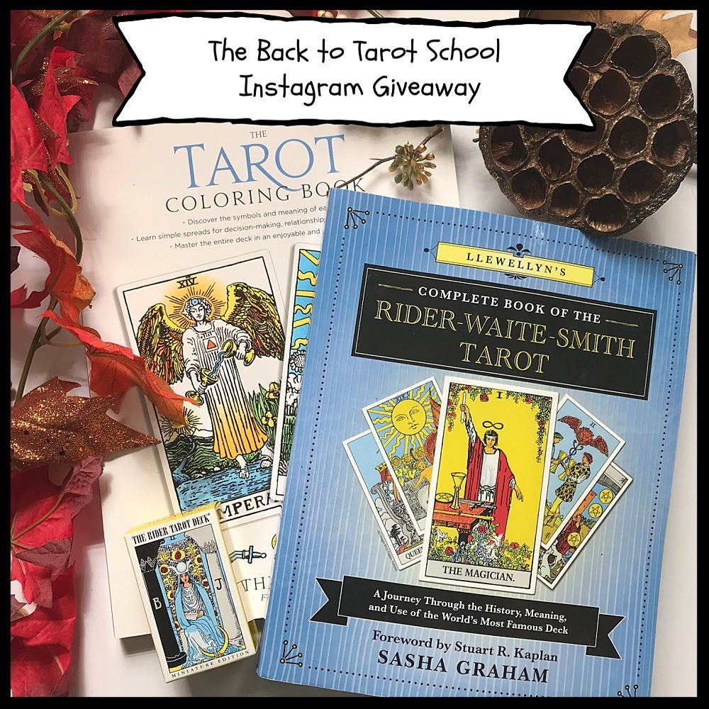 Your chance to win free copies of these awesome tarot books!